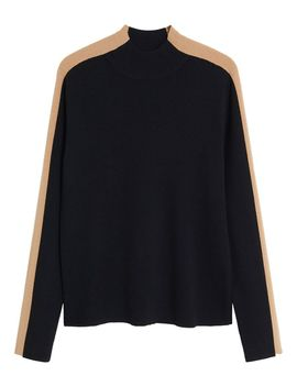 Olimpia Contrast Sweater by Mango
