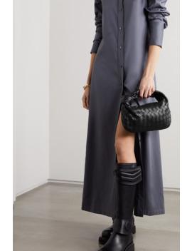 Jodie Mini Knotted Intrecciato Textured Leather Tote by Bottega Veneta