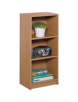 Argos Home Maine 2 Shelf Half Width Bookcase   Oak Effect609/2177 by Argos