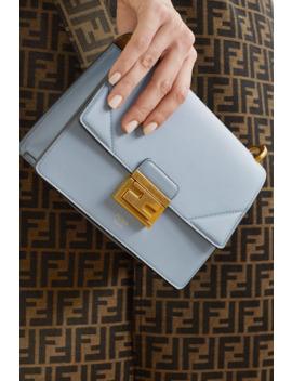 Kan U Small Leather Shoulder Bag by Fendi