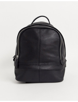 Asos Design Leather Mini Backpack by Asos Design
