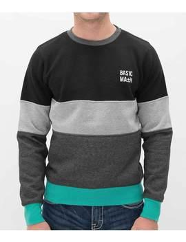 Basic Math Cut & Sew Sweatshirt by Buckle