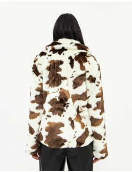 Lee Faux Fur Coat by Which We Want Which We Want