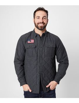 Surrender Quilted Shirt Jacket by Howitzer