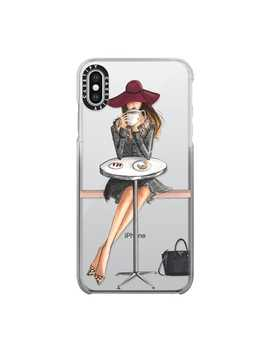 Lady Latte, Coffee Girl (Transparent) by Casetify