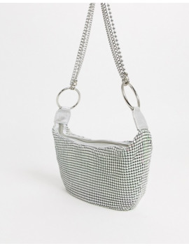 Asos Design 90s Shoulder Bag In Chainmail With Multi Chain Detail by Asos Design