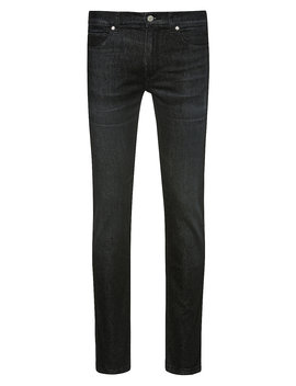 Skinny Fit Jeans In Mid Washed Stretch Denim Skinny Fit Jeans In Mid Washed Stretch Denim by Boss