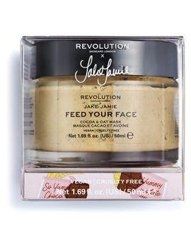 Revolution Skincare X Jake – Jamie Cocoa & Oat Moisturising Face Mask 50g by Revolution