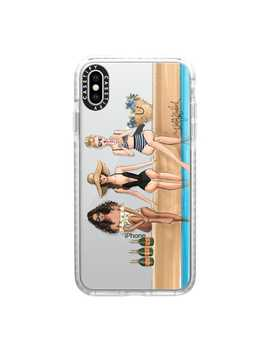 The Weekenders (Fashion Illustration Transparent Phone Case) by Casetify