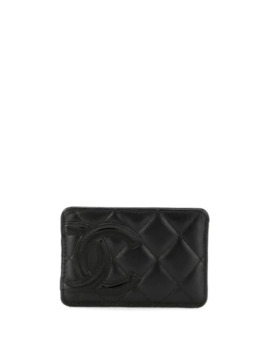 Quilted Cc Cardholder by Chanel Pre Owned