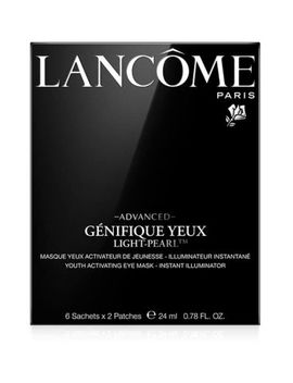 Lancôme Advanced Génifique Yeux Light Pearl Illuminating Eye Sheet Mask 6 Pack by Lancome