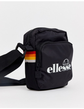 Ellesse Wallan Small Item Bag In Black by Ellesse