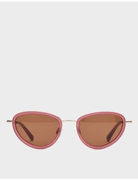 Left Eye Sunglasses In Blood Moon by Sun Buddies Sun Buddies