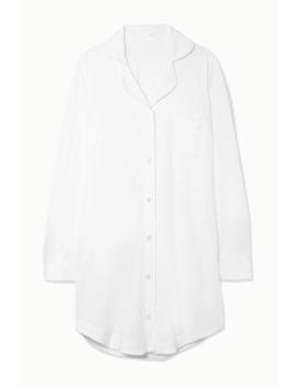 Adrianna Brushed Pima Cotton Jersey Pajama Shirt by Skin