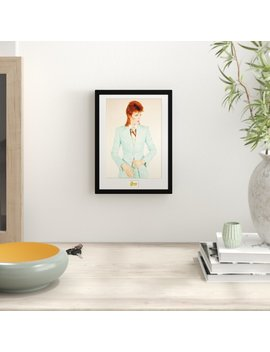 'david Bowie Life On Mars' Framed Photographic Print by 17 Stories