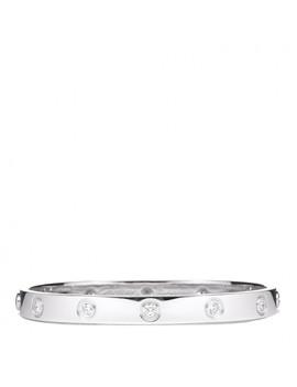 Cartier 18 K White Gold 10 Diamond Love Bracelet 16 by Cartier