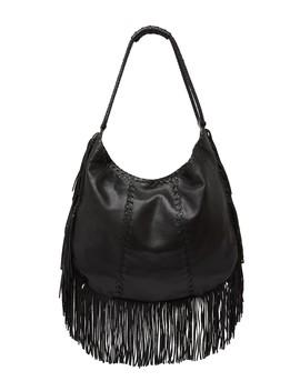 Gypsy Fringe Leather Shoulder Bag by Hobo