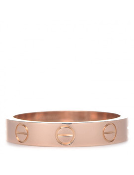 Cartier 18 K Pink Gold 3.5mm Love Wedding Band Ring 51 5.75 by Cartier