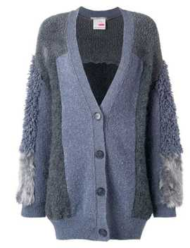 Furry Fringed Cardigan by Stella Mc Cartney