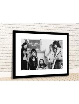 Early Fleetwood Mac British American Band Framed Photo Print by Etsy
