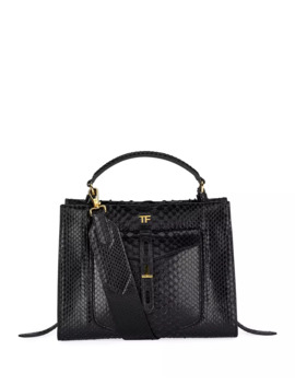 Small Python Top Handle Bag by Tom Ford