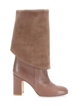 Lucinda Tall Leather Boots by Stuart Weitzman