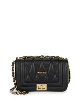 Beatriz D Leather Shoulder Bag by Valentino By Mario Valentino