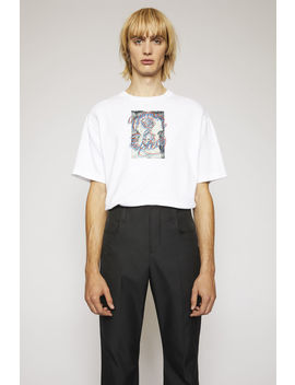 Summer Solstice T Shirt Optic White by Acne Studios