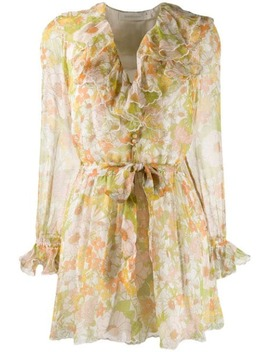 Floral Patterned Playsuit by Zimmermann