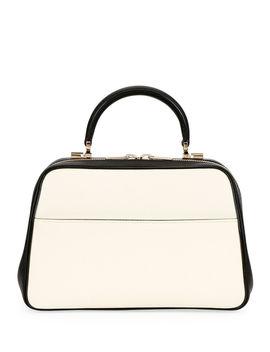 Saffiano Medium Top Handle Bag by Valextra