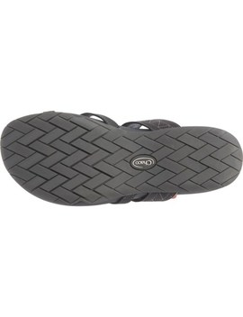 Chaco Black Deja Flip Flops   Leather (For Women) by Chaco