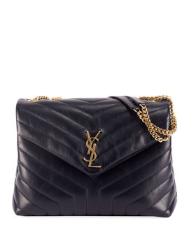 Lou Lou Quilted Leather Ysl Bag by Saint Laurent