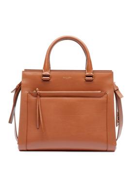 Eastside Medium Leather Top Handle Crossbody Bag by Saint Laurent