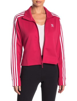 3 Stripe Front Zip Jacket by Adidas