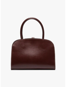 Brown Micro Ladybird Bag by Manu Atelier