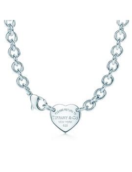 Return To Tiffany®        Heart Tag Choker by Return To Tiffany®