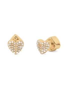 Heart To Heart Mini Pavé Stud Earrings by Kate Spade New York