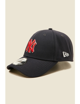 9 Forty Outlined New York Yankees Snapback Navy by New Era