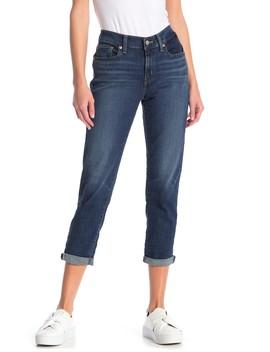 Mid Rise Boyfriend Crop Jeans by Levi's