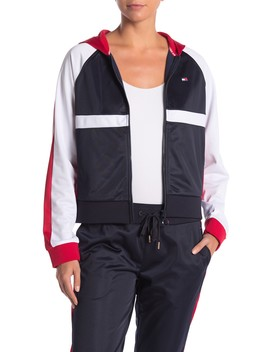 Sport Colorblock Hooded Jacket by Tommy Hilfiger