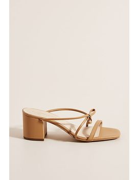 Edie Strappy Heels by Anthropologie