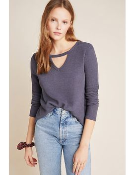 Lissa Cut Out Thermal Top by T.La