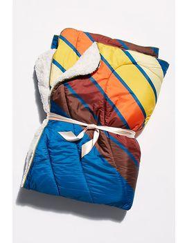 Rumpl Sherpa Lined Blanket by Rumpl