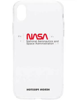 Nasa I Phone Xs Case by Heron Preston
