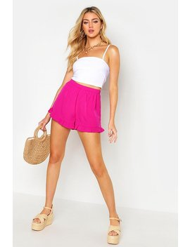 Tassled Flippy Shorts by Boohoo