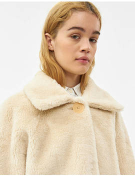 Shearling Cropped Jacket by Amomento Amomento