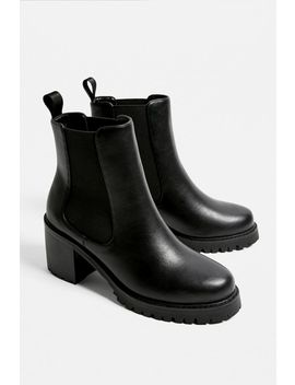 Uo Boston Heeled Chelsea Boot by Urban Outfitters