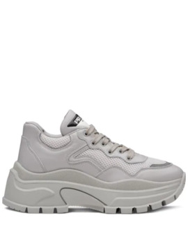 Chunky Panelled Sneakers by Prada