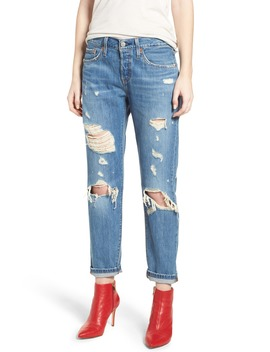 501™ Taper Ripped Boyfriend Jeans by Levi's®