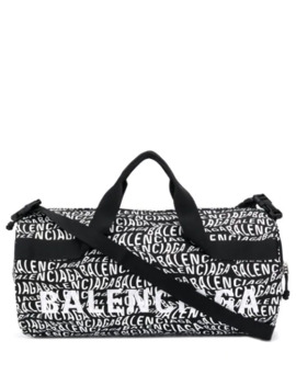 Wheel Wave Logo Holdall by Balenciaga